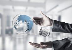 世界保护概念的创新 免版税库存图片
