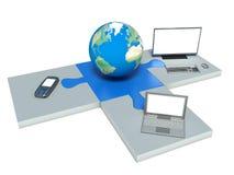 世界信息技术 免版税库存照片