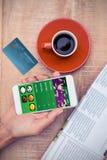 世界信用卡的综合图象 库存图片
