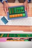世界信用卡的综合图象 库存照片