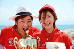 世界冠军2014年薄饼 免版税库存照片