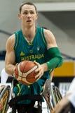 世界半轮椅篮球冠军决赛 图库摄影