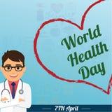 世界卫生日, 4月7日 库存图片