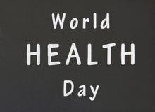世界卫生日 图库摄影