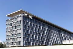 世界卫生组织大厦在日内瓦,瑞士 免版税库存照片
