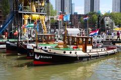 世界口岸天鹿特丹2018年 库存照片