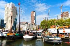 世界口岸天鹿特丹2018年 图库摄影