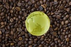 世界只喝咖啡 免版税库存照片