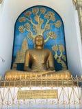 世界和平塔在博克拉 免版税图库摄影