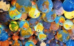 世界和月亮 免版税图库摄影