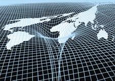 世界和黑洞 免版税库存图片