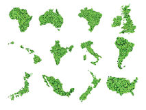 世界地图传染媒介 库存照片