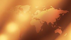 世界地图布局背景 向量例证