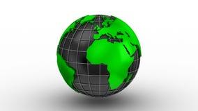 世界地图把变成地球 皇族释放例证