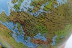 世界地图背景-欧罗巴 免版税库存图片