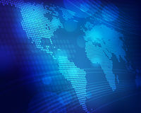 世界地图 库存图片