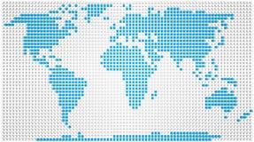 世界地图 皇族释放例证
