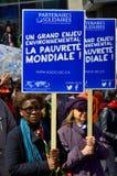 世界地球日游行 免版税库存照片