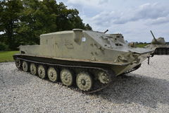 世界大战博物馆武器和坦克 免版税库存图片