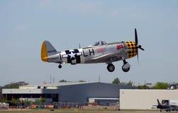 世界大战2战斗机在一好日子 免版税库存照片