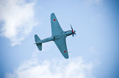 从世界大战2次的俄国战斗机 图库摄影