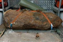 世界大战2炸弹保险丝DÃ ¼ sseldorf德国 库存照片