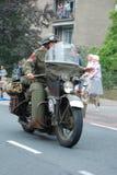 世界大战2由15的车驱动 库存照片