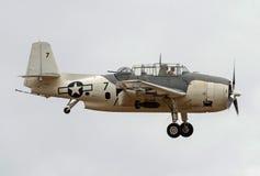 世界大战2葡萄酒warbird 1945年格鲁门公司TBM-3E复仇者 免版税库存照片
