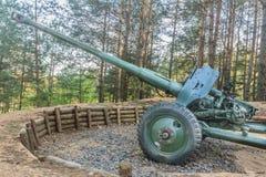 世界大战2过时枪在白俄罗斯 库存照片
