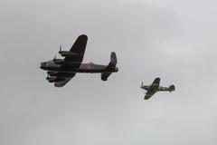 世界大战2飞机 免版税库存图片