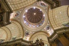 世界大教堂的玛丽女王/王后,蒙特利尔,魁北克,加拿大 免版税库存图片