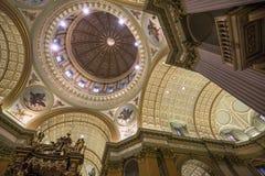世界大教堂的玛丽女王/王后,蒙特利尔,魁北克,加拿大 免版税库存照片