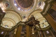 世界大教堂的玛丽女王/王后,蒙特利尔,魁北克,加拿大 库存照片