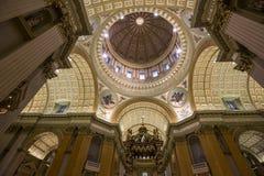 世界大教堂的玛丽女王/王后,蒙特利尔,魁北克,加拿大 免版税图库摄影