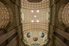 世界大教堂的玛丽女王/王后,蒙特利尔,魁北克,加拿大 图库摄影