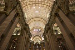 世界大教堂的玛丽女王/王后,蒙特利尔,魁北克,加拿大 库存图片