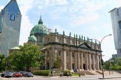 世界大教堂的玛丽女王/王后,蒙特利尔 免版税库存图片
