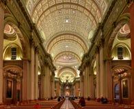 世界大教堂的玛丽女王/王后-蒙特利尔,魁北克,加拿大 库存图片