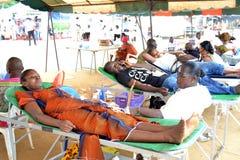 世界天献血者 免版税库存照片