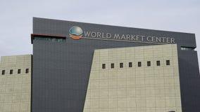 世界市场中心,拉斯维加斯,内华达 免版税库存图片