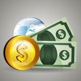 世界市场和证券交易所 免版税库存图片