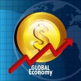 世界市场和证券交易所 库存图片