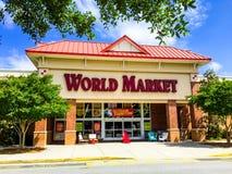 世界市场在Summerville, SC 免版税库存图片