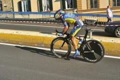 世界循环的冠军在佛罗伦萨,意大利 库存图片