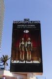 世界性旅馆签到拉斯维加斯, 2013年4月19日的NV 库存照片