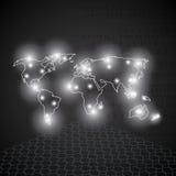 世界技术 免版税库存图片
