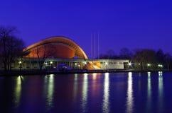 世界文化的议院在我们的蓝色的柏林 库存图片