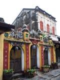 世界文化遗产地方,越南的会安市 免版税库存照片