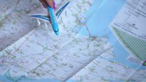 世界旅行乘飞机 影视素材
