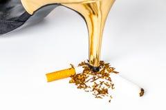 世界无烟草日 库存照片